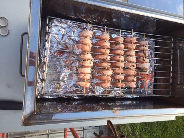 Аргентинские креветки горячего копчения - дачный рецепт в коптильне