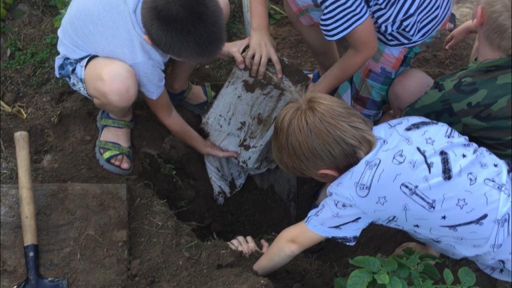 Квест для детей: Поиск клада
