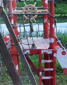 квест для детей: Поиск клада на даче (старый фрегат)