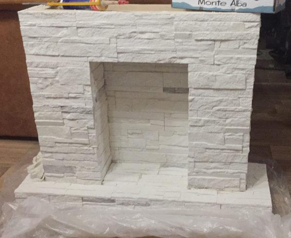 Декоративный камин своими руками - пошаговая инструкция