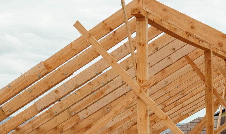 С чего начинать строить крышу?