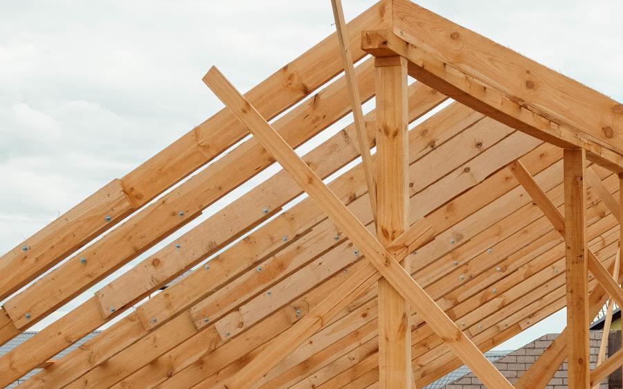 С чего начинать строить крышу